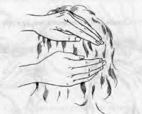 Рейки – Схемы наложения рук. Голова