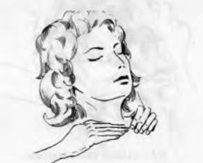 Рейки – Схемы наложения рук. Шея