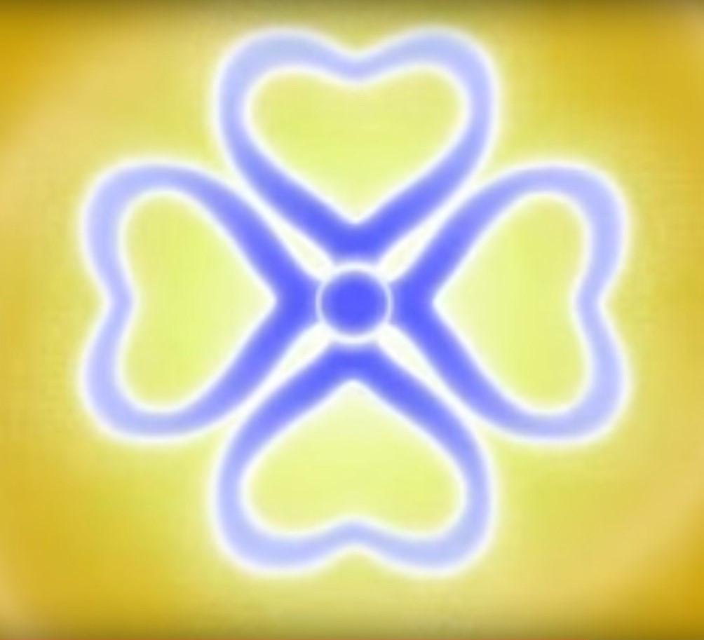 39. Движение Жизни. Цвет: Лавандовый, Персиковый и здолотисто-белый.  Природа: Интегрирующий