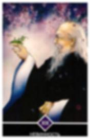 НЕВИННОСТЬ - старший аркан. Дзен говорит, что если Вы оставляете знание и все, что заключено в этом знании, – свое имя, личность, все – потому, что это было дано Вам другими, если Вы оставляете все, что было дано Вам другими, Ваше бытие будет обладать совершенно другим качеством – невинностью.