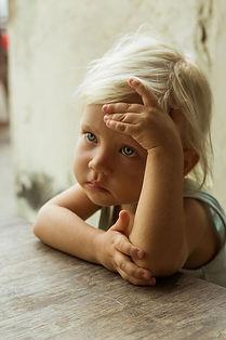 Детские болезни.  Эмоциональная блокировка