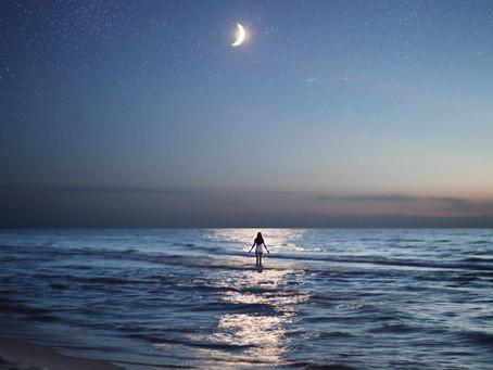 Я нырнула в ночное море...