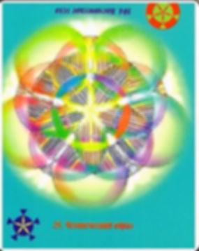 Исцеляющая сила энергетических волн. Карта 25 -104. Человеческий образ – Космическое тело (описание)…