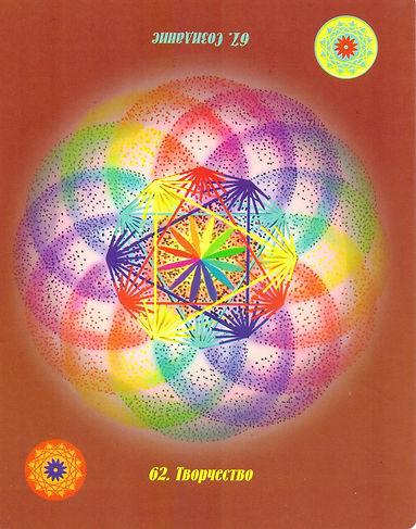 Исцеляющая сила. карта 62 – Творчество