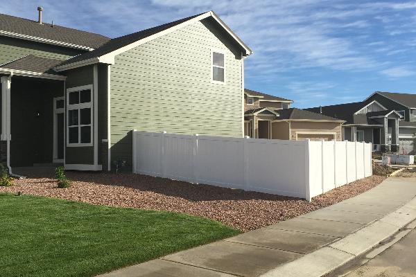 Vinyl Fence Fencing Contractors In Co El Paso