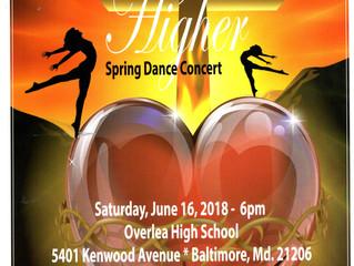 """""""Higher"""" Spring dance concert"""