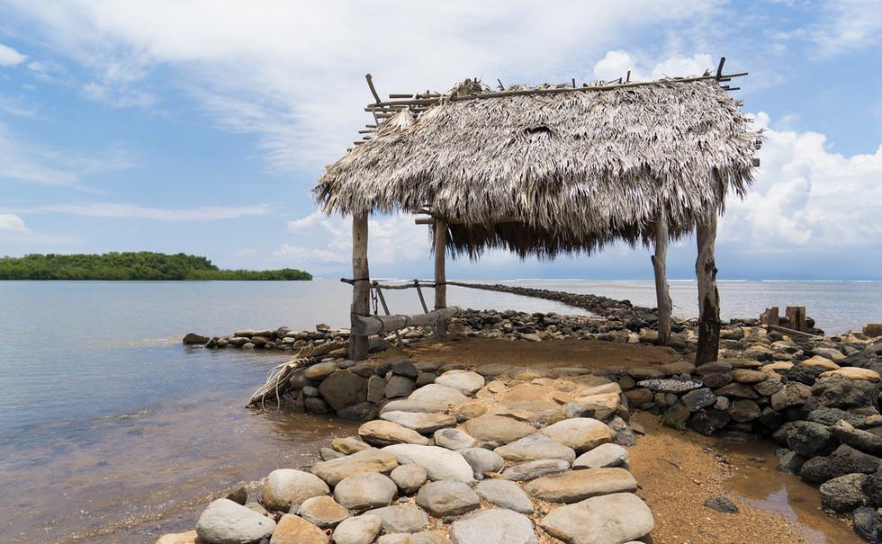 Molokai loko i'a hale
