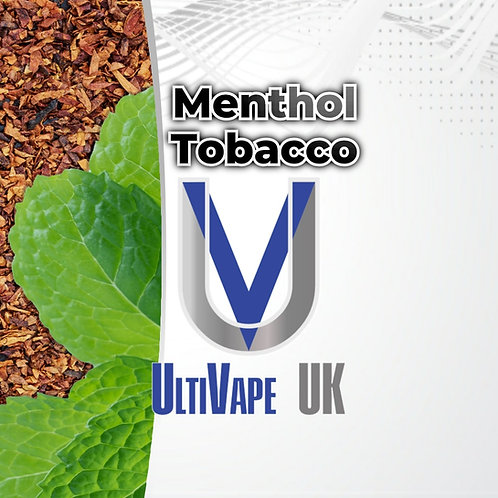 Ultivape Menthol Tobacco 50ml 0mg 80/20