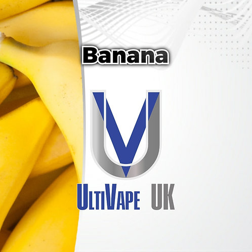Ultivape Banana 50ml 0mg 80/20