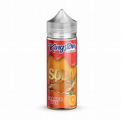 Kingston Soda Orange Fizz 100ml 0mg 70/30 VG PG