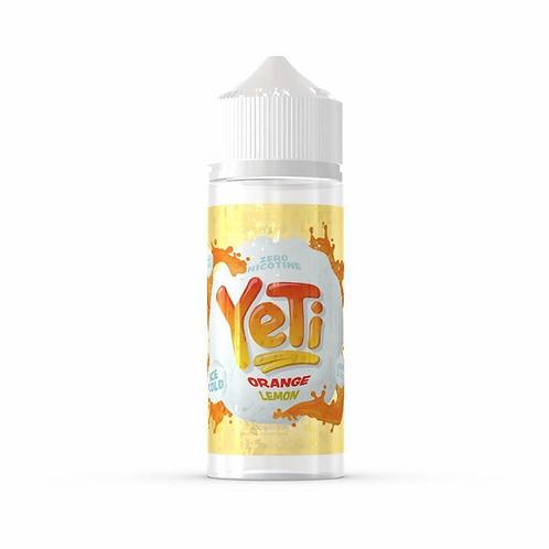 Yeti Orange Lemon 0mg 100ml 70/30 VG PG