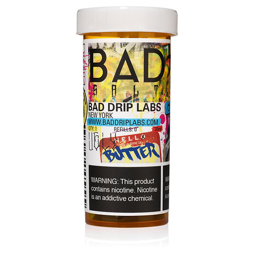 Bad Drip Labs Ugly Butter 50ml 0mg (75/25)