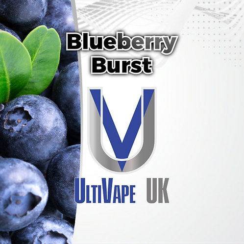 Ultivape Blueberry Burst 50ml 0mg 80/20