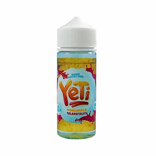 Yeti Pineapple Grapefruit 0mg 100ml 70/30 VG PG