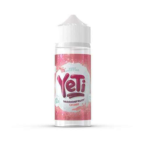 Yeti Passionfruit Lychee 0mg 100ml 70/30 VG PG