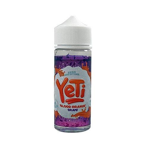 Yeti Blood Orange Grape 0mg 100ml 70/30 VG PG