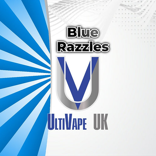 Ultivape Blue Razzles 50ml 0mg 70/30