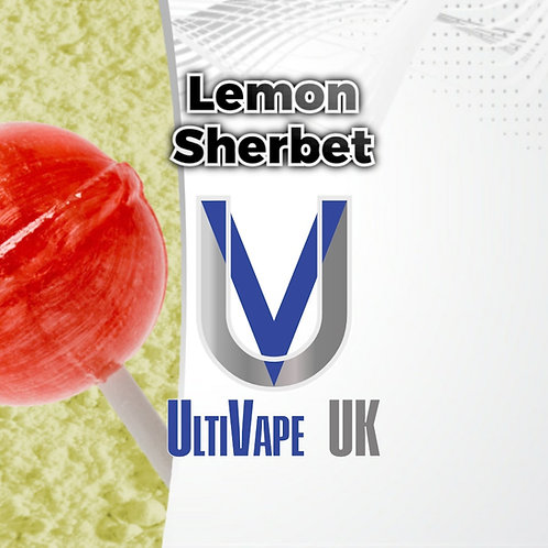 Ultivape Lemon Sherbet 50ml 0mg 80/20