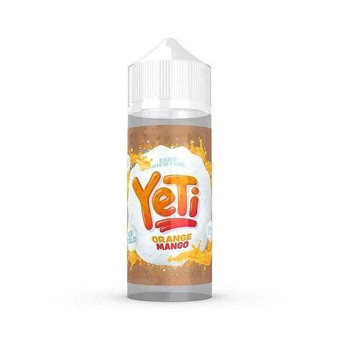 Yeti Orange Mango 0mg 100ml 70/30 VG PG