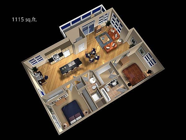 Southview Court Floorplan