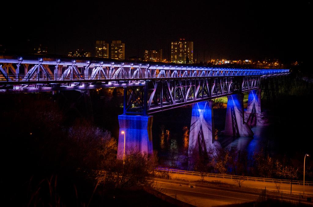 Edmonton Light the Bridge