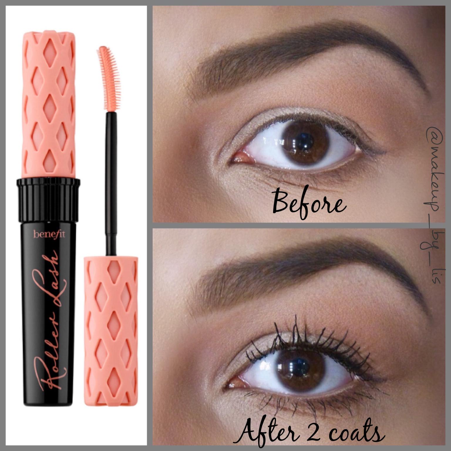 50a7c7ac3b1 Benefit Cosmetics Roller Lash Mascara Review | Makeup by Lis Puerto ...