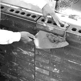 Leather Handle Brick Trowels Campaign