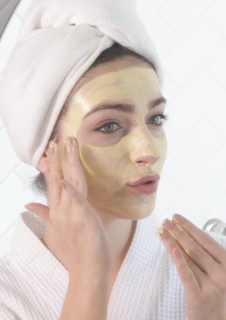 Complimentary Skin Products use in Spa