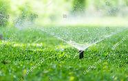 stock-photo-automatic-garden-lawn-sprink