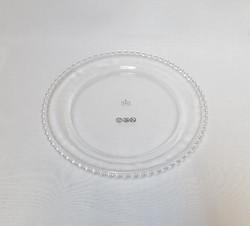 Assiette perlée (grand modèle)