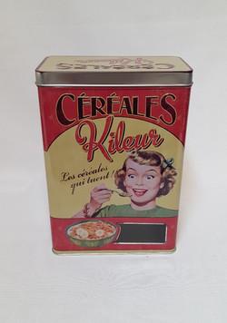 Boîte à céréales