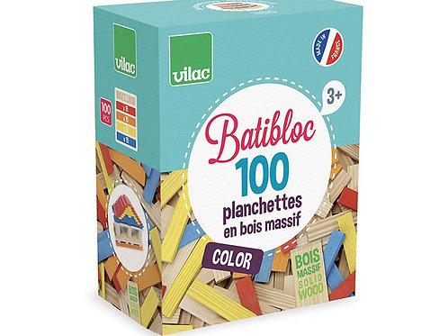 Baticbloc Color en Bois Massif  VILAC