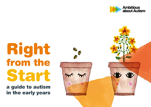 Ambitious abdout Autism's 100-page guide to autism in the early years for parents