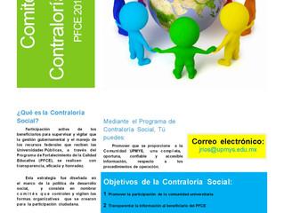COMITÉ DE CONTRALORÍA SOCIAL