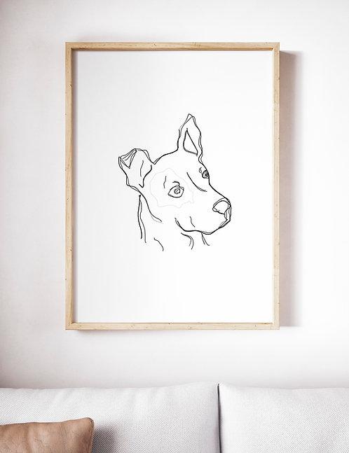 Line Art Unikat