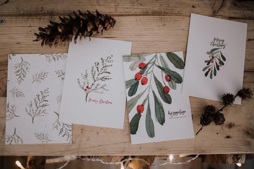 """Hyggelige Weihnacht Kartenset """"Hygge"""""""