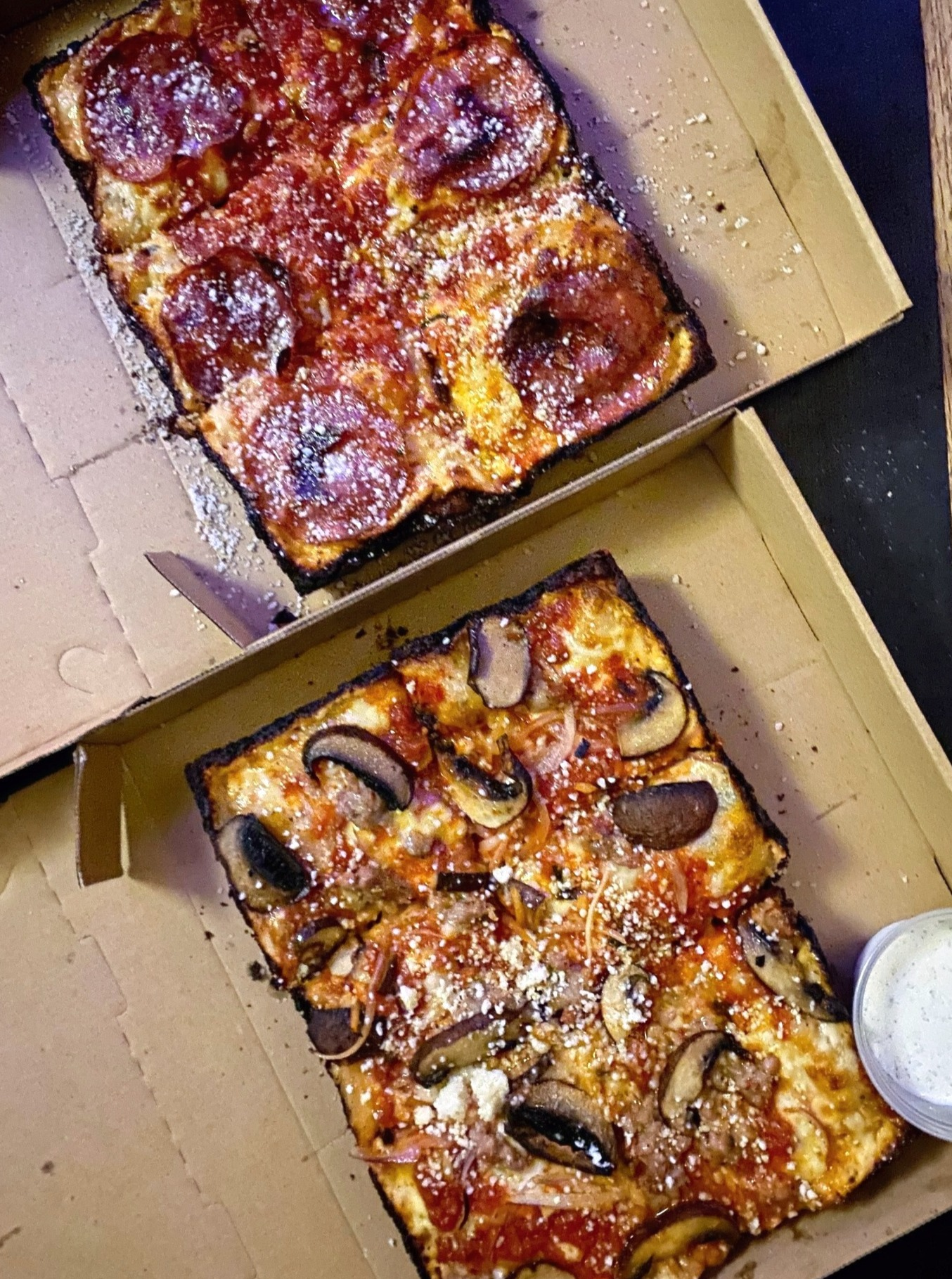Dough Town NOLA's Detroit Pizza