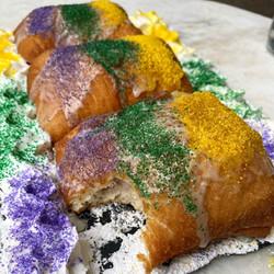 King Cake Beignets. The Vintage