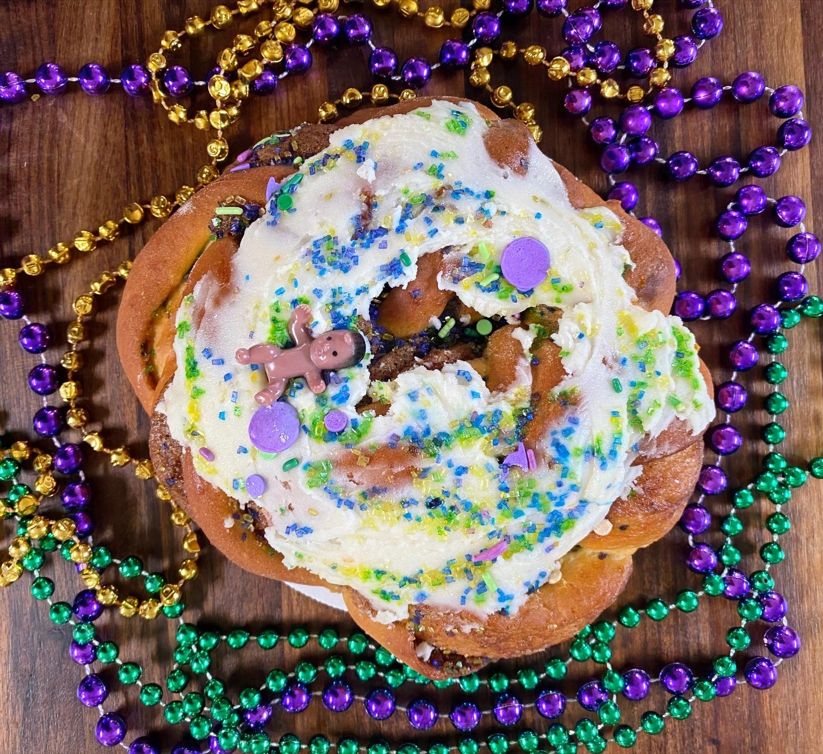King Cake. Viola's Heritage Breads