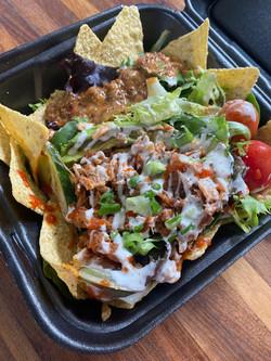 Jackfruit Taco Salad