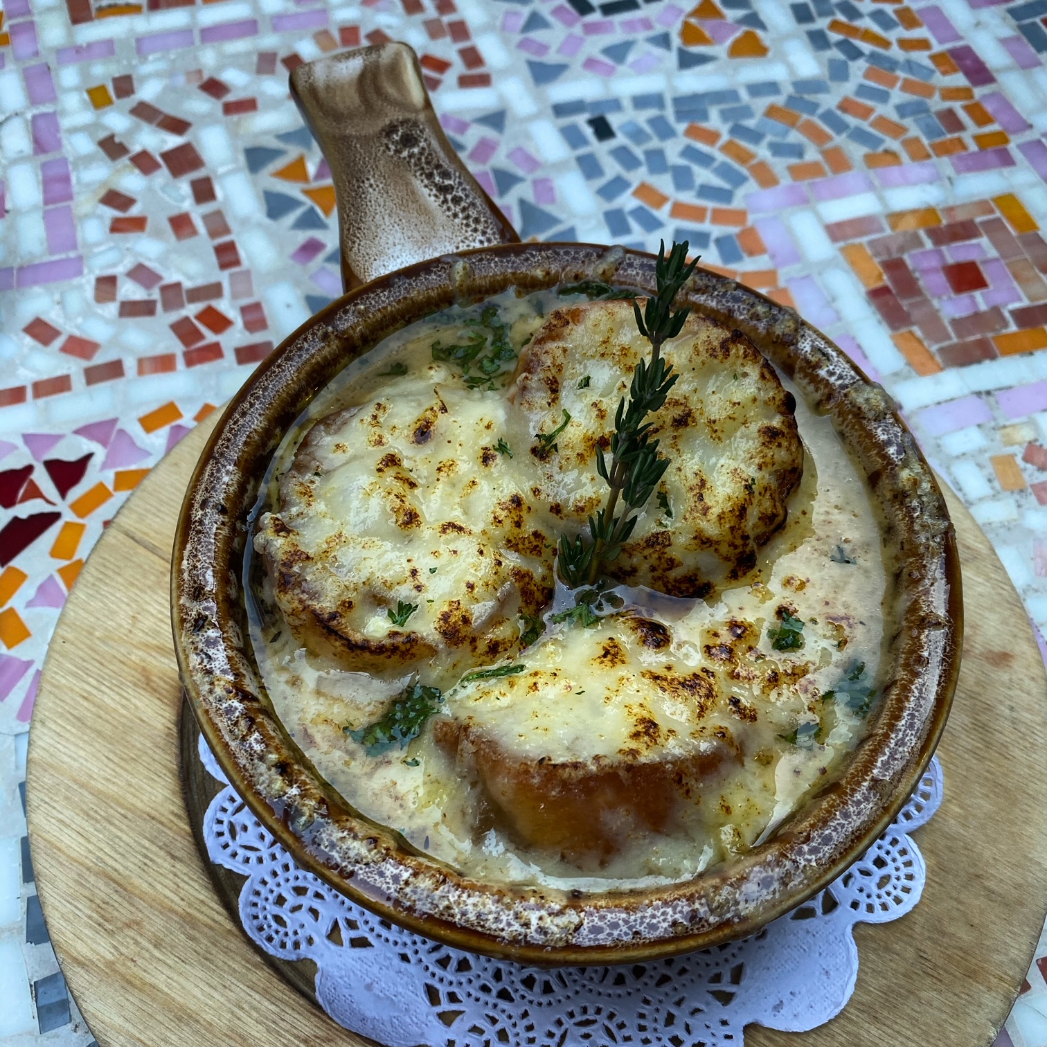 Vyoone's French Onion Soup