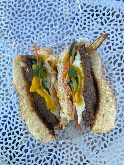 Good Morning, Vietnam breakfast sandwich
