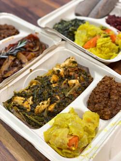 Chicken & Spinach Tibs. Addis