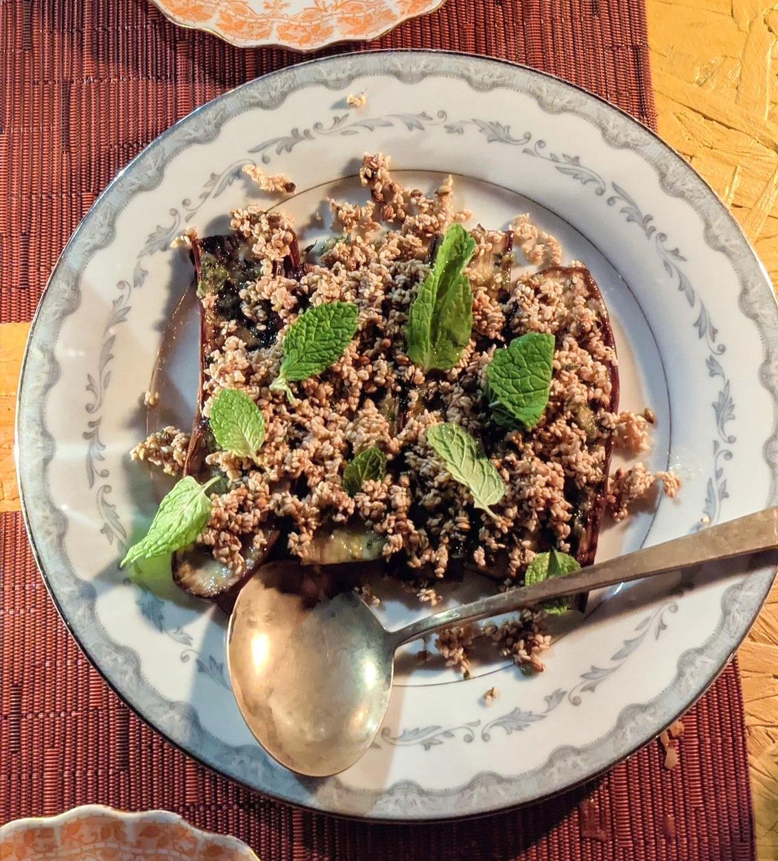 Fowl Mouth NOLA's Sesame Eggplant