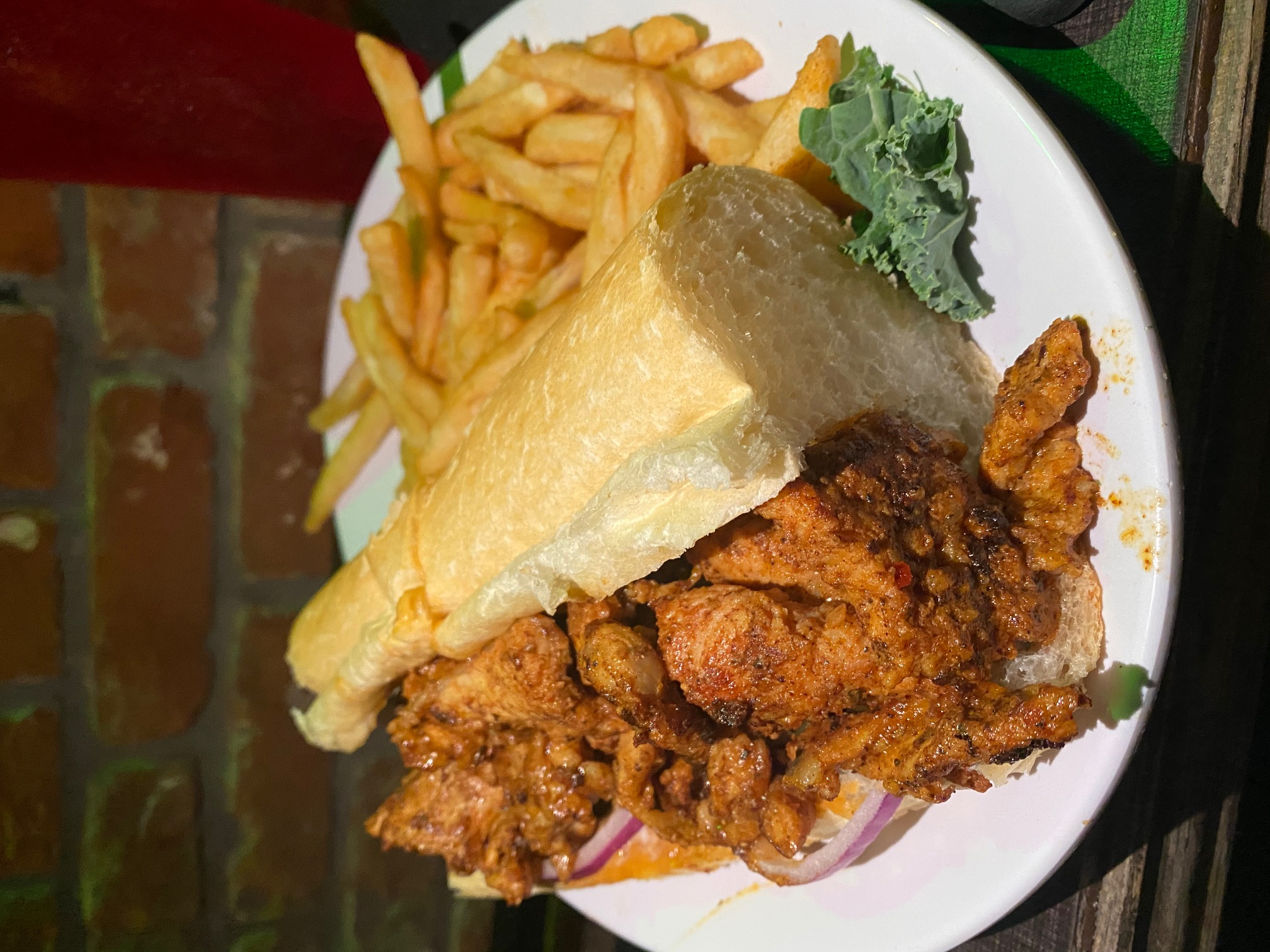 Fried Gator Poboy