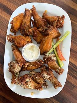Wings. J's Creole Wings