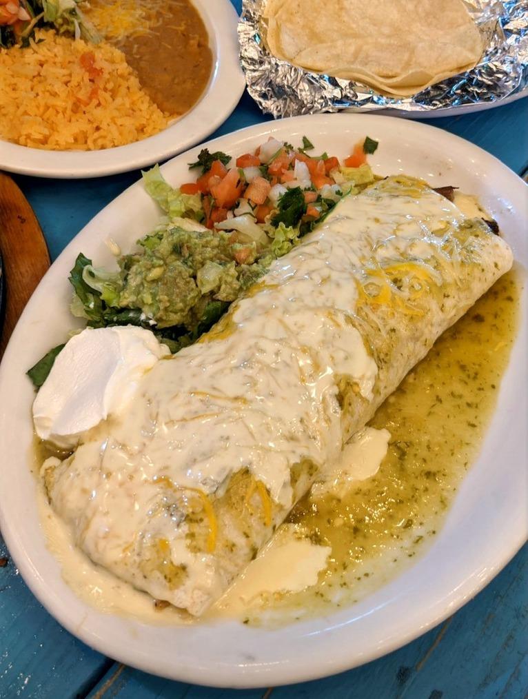 El Paso's Burrito Asado