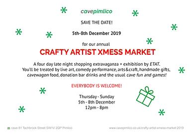 Crafty Artist Xmess Market 2019