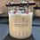 Thumbnail: 18 oz. Glass Chakra Healing Candle