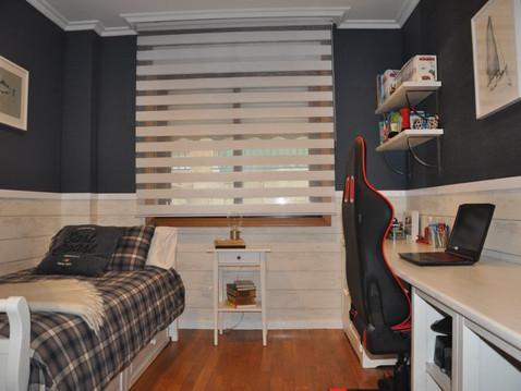 Decoración de dormitorio de chico